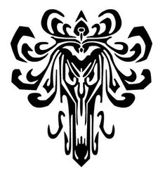 tattoo stencil haunted mansion wallpaper