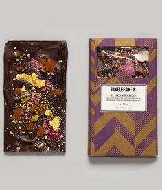 Unelefante - Chocolate El Jardin Secreto