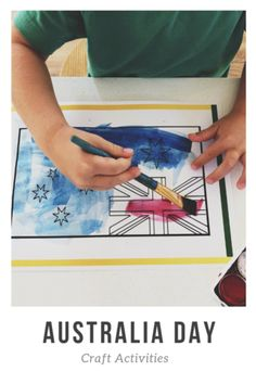 Crafts To Do, Crafts For Kids, Aus Day, Preschool Rooms, Australia Day, Activity Sheets, Lessons For Kids, Early Learning, Craft Activities