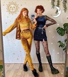 Aesthetic Fashion, Look Fashion, Aesthetic Clothes, Fashion Outfits, Womens Fashion, Fashion Design, Witch Fashion, Aesthetic Grunge, Fashion 2020