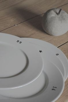 numbers on plates My Coffee Shop, Kitchenware, Tableware, Dinnerware, 3d Printing, Decoration, Pottery, Starry Eyed, Plates