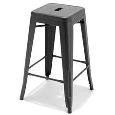 Oregon Industrial Low Back Bar Stool With Gray Frame (Set of - Brown Wood - Lumisource Metal Stool, Metal Bar Stools, Modern Bar Stools, Black Stool, Black Bar Stools, Pub Stools, Kitchen Stools, Cozy Bar, Breakfast Bar Stools