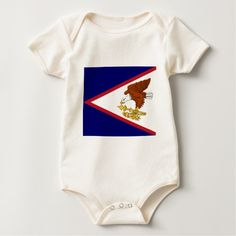 Flag of American Samoa Baby Bodysuit