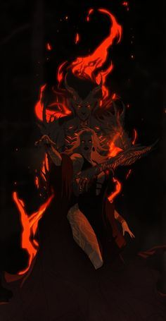Witches and Demons by Banished-shadow.deviantart.com on @DeviantArt