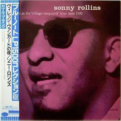 SONNY ROLLINS / A NIGHT AT THE VILLAGE VANGUARD / BLUE NOTE / TOSHIBA JAPAN OBI
