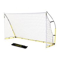 The Kickster Academy 12ft x 6ft goal from Quickplay Sports is an innovative, portable football goal. This goalpost is the official size for junior football. As the quick play name suggests, Kickster Academy goals are fast to set up and put away. The Kickster 12ft by 6ft goal is an excellent example, being ready for action or back in the bag in 2 minutes.