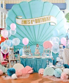Mermaid birthday party                                                                                                                                                                                 More