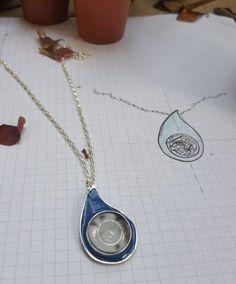 Handmade jewelry design, limited edition, enamel design, hair jewlery