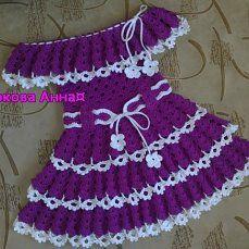(27) Одноклассники Crochet Toddler, Baby Girl Crochet, Crochet Baby Clothes, Crochet For Kids, Vestidos Bebe Crochet, Circle Skirt Pattern, Crochet Baby Jacket, Crochet Doll Dress, Crochet Designs