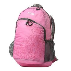MAKINO Ultralight Foldable Backpack Hiking Daypack 5504 22L pink   You can find  more details by 43af5ece40616