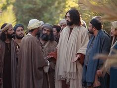 Free visuals for  A rich young man questions Jesus  When a rich young ruler asks Jesus about eternal life he does not like the answer. Matthew 19:16-30, Mark 10:17-31, Luke 18:18-30