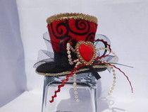 Red Queen Mini Top Hat diy