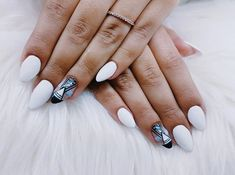 """14 Synes godt om, 1 kommentarer – Box of beauty (@boxofbeautydk) på Instagram: """"#painted #professional #violet #colorworld #creative #paint #galleryart #indigo #colorful #prilaga…"""" Round Shaped Nails, Beauty, Round Wire Nails, Beauty Illustration"""