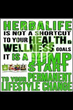 Herbalife= Life Style Change!!