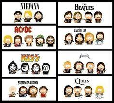Grupos rock