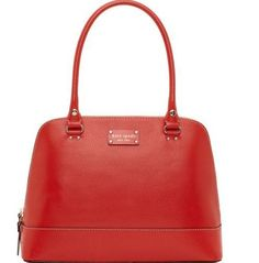 Kate Spade Wellesley Rachelle... I need a red purse in my life.