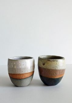 Shino Takeda Ceramic Tea Cups