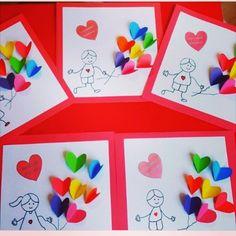 Anneler günü kartı.. @ebru_aks  #okulcini #kreşkurdu #okulöncesi #okuloncesietkinlik #etkinlikpaylasimi ...