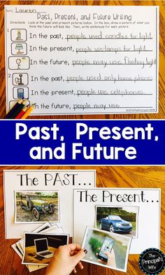 Fun Games and Activities for teaching Past, Present, and Future