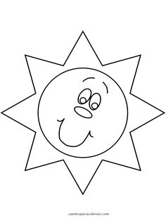 Print Nature # Sun Coloring Pages coloring page & book. Your own Nature # Sun Coloring Pages printable coloring page. With over 4000 coloring pages including Nature # Sun Coloring Pages . Coloring Pages Nature, Coloring Pages To Print, Printable Coloring Pages, Free Coloring Pages, Coloring Books, Summer Coloring Pages, Sun Template, Templates, Sun And Moon Mandala