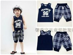 Free shipping 2014 Tz125 therewith summer male child set nbsp . US $10.99