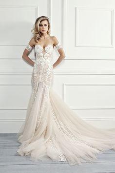 c9c686b120e48 New Delicate Lace Mermaid Wedding Dresses Dubai African Arabic Style ...