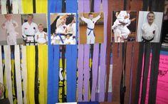 photo display bday child through belt progress