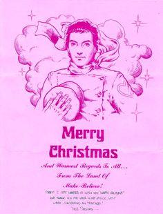 Too early for Christmas cards? Dave Stevens 1976 letter to Forrest J. Ackerman. http://r.ebay.com/GMKItm