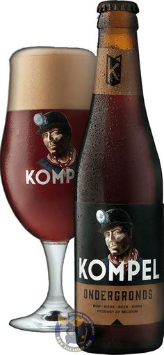 Our New Beer: Kompel Ondergronds 6° Available at http://store.belgianshop.com/special-beers/2120-kompel-ondergronds-6-13l.html Underground' immediately raises the image of the miner with a low dust around the face, hard work in the vast underground corridors. The roasted malt largely determines the color, aroma and taste of this beer. The beer is black as a coal in the glass and has a cream-colored foam collar. Kompel Ondergronds referments in the bottle, which makes the beer better…