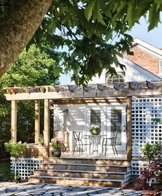 Pergola DIY - Inspire Me Heather blog