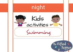 This sticker is a cute and fun way to plan activities for kids. This listing offers a pdf file with 55 Kids activities stickers as shown in the