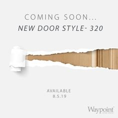 Coming soon, a brand new 320 door style!