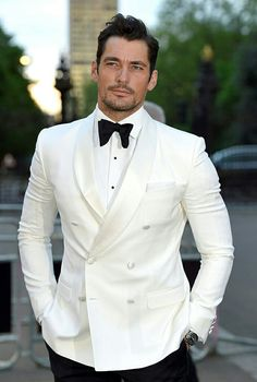 White Tux Wedding High Quality Ivory Suits Groom Tuxedos Groomsmen Party Dinner Double Breasted Best Man For Prom Tuxedo Pictures Prom Tuxedo, Tuxedo Wedding, Wedding Men, Wedding Suits, Wedding Groom, Wedding Tuxedos, Ivory Wedding, Wedding Shawl, Wedding Ideas