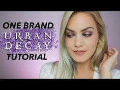 Mostly Matte One-Brand Makeup Tutorial: URBAN DECAY | Mariah Leonard - YouTube