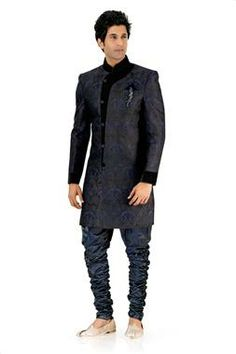 Royal groom indo western Sherwani.
