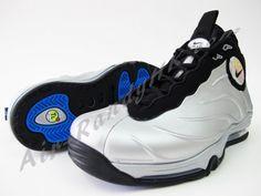 1854ec1f583 Nike Total Air Foamposite Max · Photo BlueMetallicSneakers NikeHigh Top  SneakersWalkingMens FashionFoam PositesSilverBlack