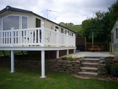 Take a look at the private caravans for hire on Ladram Bay Holiday Park, Budleigh Salterton. http://www.ukcaravans4hire.com/ladram-bay.html