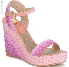 Sandales compensées RAS