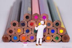 https://flic.kr/p/EaDJBr | New Colours | Es wurde Zeit für einen neuen Anstrich der Buntstifte in Little World! ------------------------------------ Time for some new colours for the pencils in Little World!