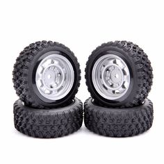 19.99$  Watch now - http://alii1w.shopchina.info/go.php?t=32729351295 -  12mm Hex Rally Car Tires And Wheel Model Toys Accessory For 1/10 Rally Rubber RC Car Model Parts  #magazine
