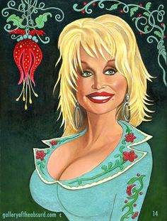 Dolly Parton  (Illustration by 14)