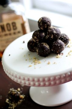 Fudgy Bourbon Balls | Recipe | Bourbon Balls, Bourbon and Rum Balls