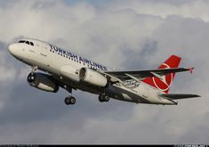 Turkish Airlines TC-JLV Airbus A319-132 aircraft picture
