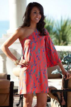 42 Amazing One Shoulder Dresses For Summer 2015