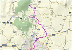 TÚRA Map, Location Map, Maps