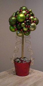 christmas ball tree
