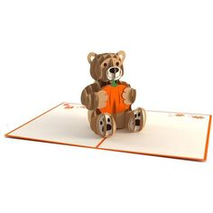 Fall Bear Pop Up Card greeting card - Lovepop