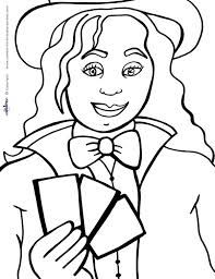 coloring pages about magic - Google Search