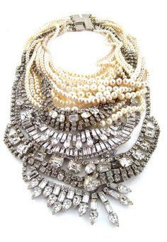 Tom Binns multi layer necklace