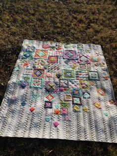 Beautiful quilting. Gypsy wife quilt
